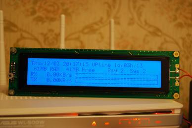 USB LCD äèñïëåé äëÿ ðîóòåðà (HD44780 & LCD4Linux) - Page 5