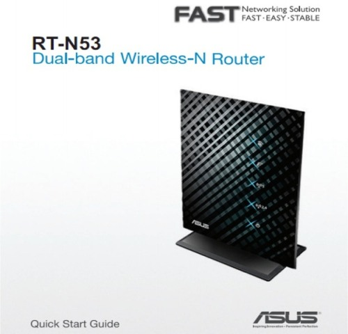 New Asus RT-N53 Router